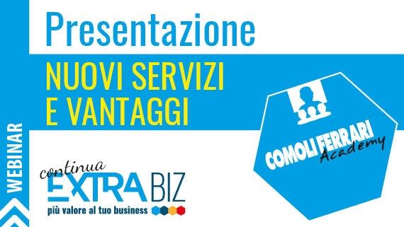 ► Extra Biz continua - Nuovi servizi e vantaggi