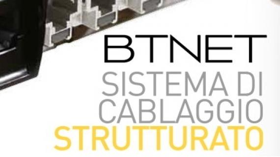 BTNET CABLAGGIO STRUTTURATO FIBRA OTTICA RAME