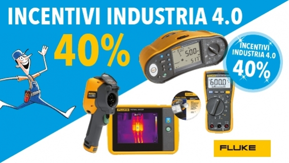 ► Fluke Incentivi Industria 4.0
