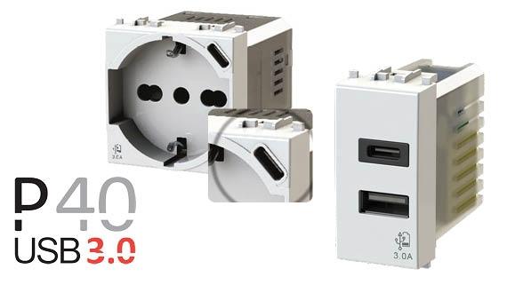 ► Nuovi alimentatori USB di tipo C