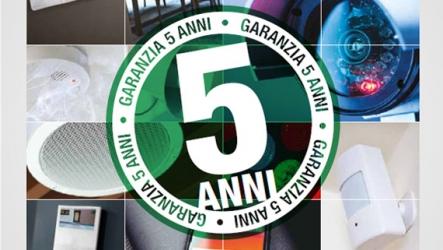 ► La Tua Sicurezza Garantita 5 anni - COMELIT