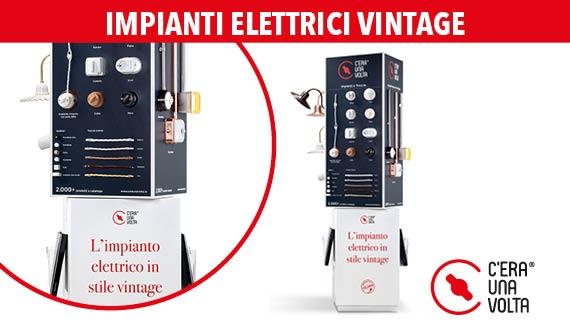 ► Realizzazione degli impianti elettrici vintage
