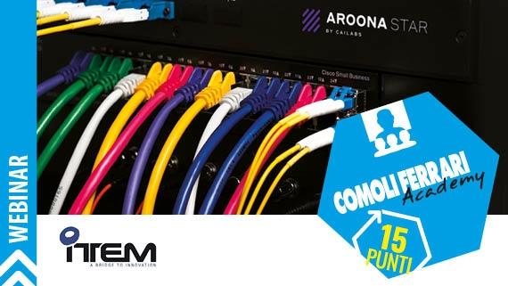 ► AROONA STAR: Una velocità illimitata su una fibra ottica multimodale esistente
