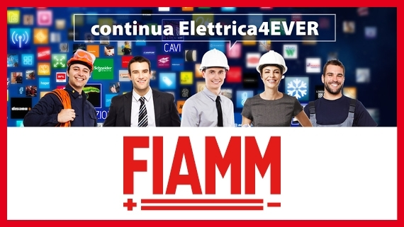 FIAMM ELETTRICA 4EVER