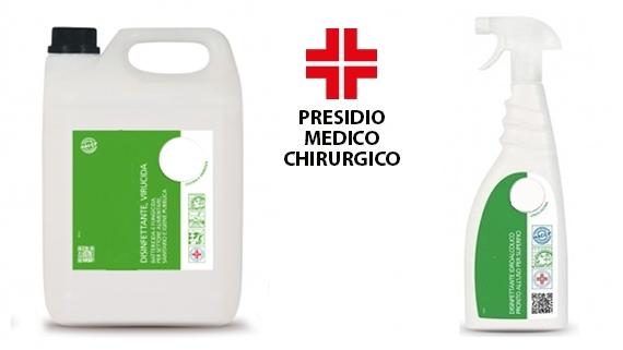 ► Disinfettanti detergenti per superfici