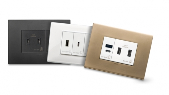 ► VIMAR-Nuove prese USB di tipo C