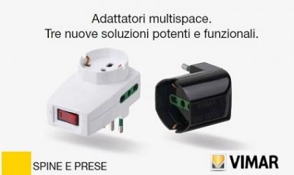 ► Nuovi Adattatori Multispace - VIMAR